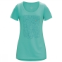 Product image of Arc'teryx Womens Block S/S T-Shirt Halcyon