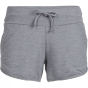 Product image of Icebreaker Womens Mira Short Fossil/Snow