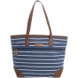 Product image of Womens Stripe Canvas Tote Bag