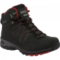 Product image of Regatta Mens Samaris Mid Boot Black/Chinese Red