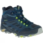Product image of Merrell Mens Moab FST GTX Mid Boot Navy