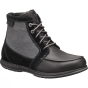 Columbia Mens Davenport PDX Waterproof Omni-Heat Boot Black / Dark Fog