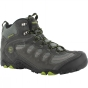 Product image of Hi-Tec Mens Penrith Mid WP Shoe Charcoal/Chartreuse