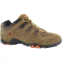 Product image of Hi-Tec Mens Quadra Classic Shoe Smokey Brown/Burnt Orange