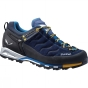 Salewa Mens Mountain Trainer GTX Shoe Navy/Nugget Gold