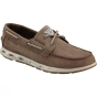 Columbia Mens PFG Bonehead Vent Leather Boat Shoe Mud/ Stone