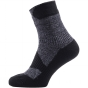 Product image of SealSkinz Mens Walking Thin Ankle Socks Grey Marl/Dark Grey