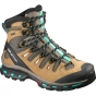 Salomon Womens Quest 4D 2 GTX Boot Shrew / Camel Gold LTR