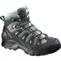 Salomon Womens Quest Prime GTX Boot Detroit/Ashpalt/Lucite Green
