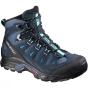 Salomon Womens Quest Prime Gore-Tex Boot Slateblue/Deep Blue/Bubble Blue