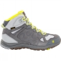 Product image of Jack Wolfskin Womens Rocksand Texapore Mid Boot Alloy/Flashing Green