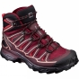 Product image of Salomon Womens X Ultra Mid 2 GTX Boot Tibetan Red/Fig/Peach