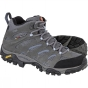 Product image of Merrell Womens Moab Mid GTX Shoe Grey /Periwinkle