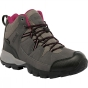 Product image of Regatta Womens Holcombe Mid Boot Steel/Vivacious