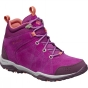 Product image of Columbia Womens Fire Venture Mid Waterproof Suede Boot Intense Violet / Melonade