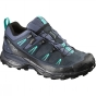 Salomon Womens X Ultra LTR GTX Shoe Slateblue / Deep Blue