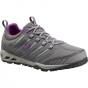 Columbia Womens Ventrailia Razor OutDry Hiking Shoe Light Grey / Razzle