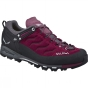 Salewa Womens Mountain Trainer Shoe Red Onion / Quiet Shade