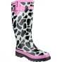 Product image of Cotswold Womens Moo Wellington Black/White