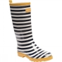 Product image of Regatta Womens Fairweather Welly Navy / White / Glowlight