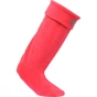 Product image of Regatta Womens Fleece Welly Sock Virtual Pink