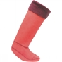 Product image of Regatta Womens Knitted Cuff Sock Bright Blush / Blackcurrant
