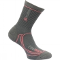 Product image of Regatta Womens Two Season Trek and Trail Sock Iron / Coral
