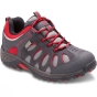 Product image of Merrell Kids Chameleon Low Lace Waterproof Shoe Grey/Red