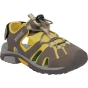 Regatta Kids Deckside Sandal Walnut / Spring Yellow
