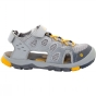 Jack Wolfskin Kids Titicaca VC Low Sandal Alloy/Burly Yellow Xt