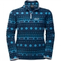 Product image of Jack Wolfskin Kids Ice Crystal Pullover Light Sky Allover
