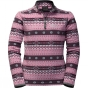 Product image of Jack Wolfskin Kids Ice Crystal Pullover Rosebud All Over