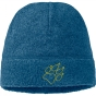 Product image of Jack Wolfskin Kids Caribou Cap Glacier Blue/Lime