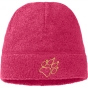 Product image of Jack Wolfskin Kids Caribou Cap Pink Raspberry/Dark Lemon