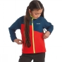 Product image of Regatta Kids Swizzle Softshell Jacket Age 14+ Pepper / Neon Spring