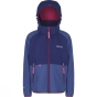 Product image of Regatta Youths Arowana Jacket Age 14+ Blueberry Pie/Clematis Blue (Jem)