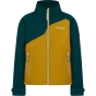 Product image of Regatta Kids Vargo Softshell Jacket Age 14+ Antique Moss/Deep Teal