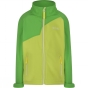 Product image of Regatta Kids Vargo Softshell Jacket Age 14+ Lime Zest/Fairway
