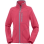 Product image of Columbia Youths Fast Trek II Full Zip Age 14+ Red Camellia / Spray