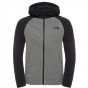 Product image of The North Face Boys Glacier Full Zip Hoodie TNF Medium Grey heather