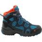 Product image of Jack Wolfskin Kids Crosswind Texapore Mid Boot Night Blue/Glacier Blue