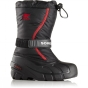 Product image of Sorel Kids Flurry Boot Black/Bright Red