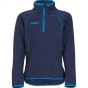 Product image of Bergans Kids Ombo Half Zip Navy / Bright Sea Blue