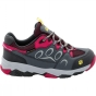 Product image of Jack Wolfskin Kids Mountain Attack 2 Texapore Low Shoe Tarmac/Azalea Red