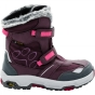 Jack Wolfskin Girls Snow Flake Texapore Boot Dark Berry