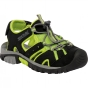 Product image of Regatta Kids Deckside Sandal Black/Lime Green