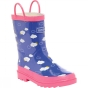 Regatta Kids Minnow Welly Peony/Pretty Pink
