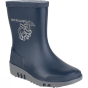 Product image of Dunlop Kids Mini Elephant Welly Blue/Grey
