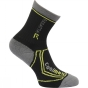 Product image of Regatta Kids 2 Season Trek and Trail Sock Black/Oasis Green