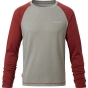 Product image of Craghoppers Kids NosiLife Barnaby Long Sleeve T-Shirt Carmine Red